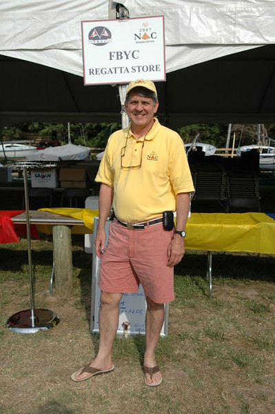 Noel Clinard at the FBYC Regatta Store