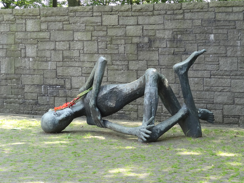 """csw5""""The Dying Prisoner,"""" Neuengamme Concentration Camp, Hamburg, Germany"""