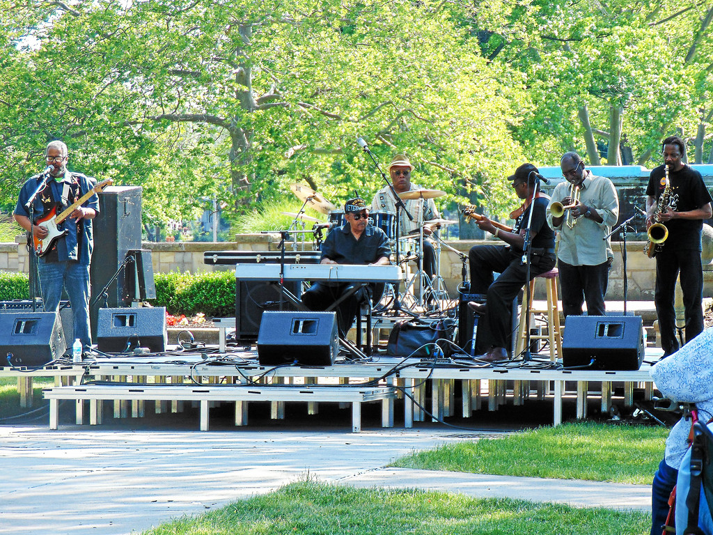 . Robert Lockwood Jr. All Star Band plays during the 2016 Juneteenth Bluesfest at Lakeview Park in Lorain. Lorain is hosting its fifth annual Juneteenth Bluesfest from 3 to 7 p.m. June 18 at Lakeview Park, 1800 W. Erie Ave. For moer information, visit www.metroparks.cc/events.php. (Morning Journal file)