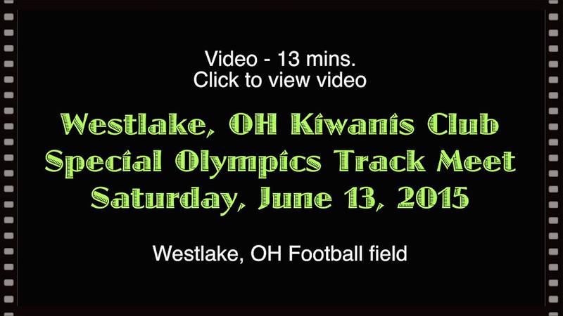 Westlake Kiwanis Track Meet                 Sat., June 13, 2015