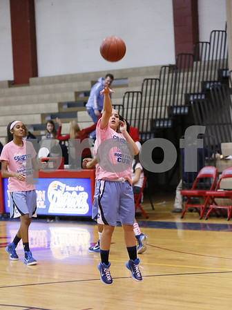 Clarksburg @ Wootton Girls Varsity Basketball 2015