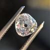 1.03ct Antique Pear/Heart Shape Diamond GIA F VS2 8