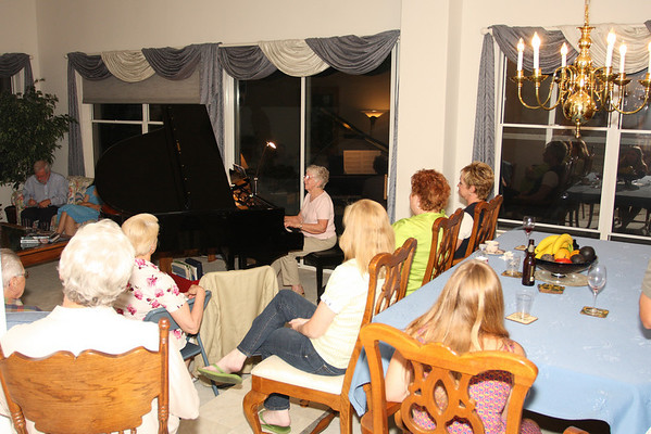 Piano Party - June 19, 2008