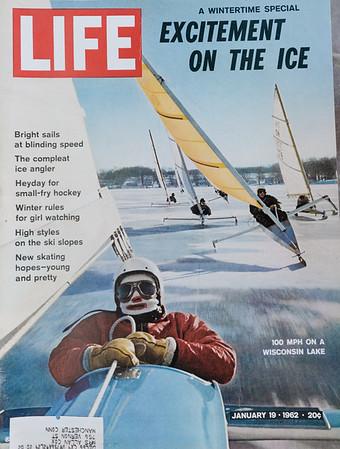 LIFE Magazine Iceboating