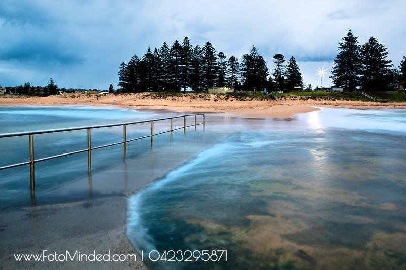 Mona Vale Rock Pool, NSW, Australia