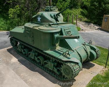 Delaware VFW, American Legion, Veterans Parks, Monument Vehicles