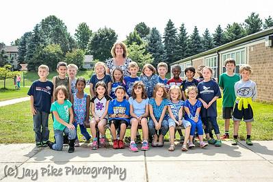 September 19, 2014 - Barlows 2nd Grade Class - Blueberry Day