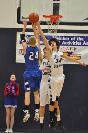 Central Linn vs. East Linn Boys High School Basketball