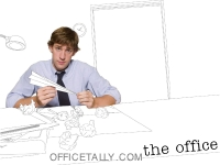 the office jim halpert wallpaper
