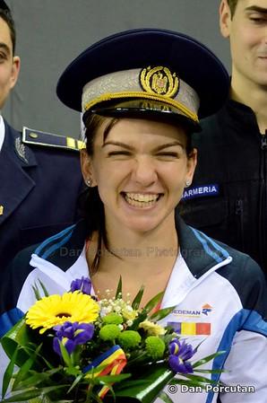Simona Halep, Monica Niculescu, Andreea Mitu si Raluca Olaru si-au ales arma secreta inaintea duelului cu nationala Cehiei