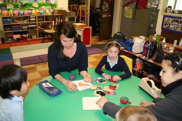 Kindergarten Sewing Class