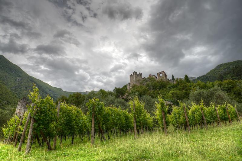 Castello di Avio - Sabbionara, Avio, Trento, Italy - July 21, 2014