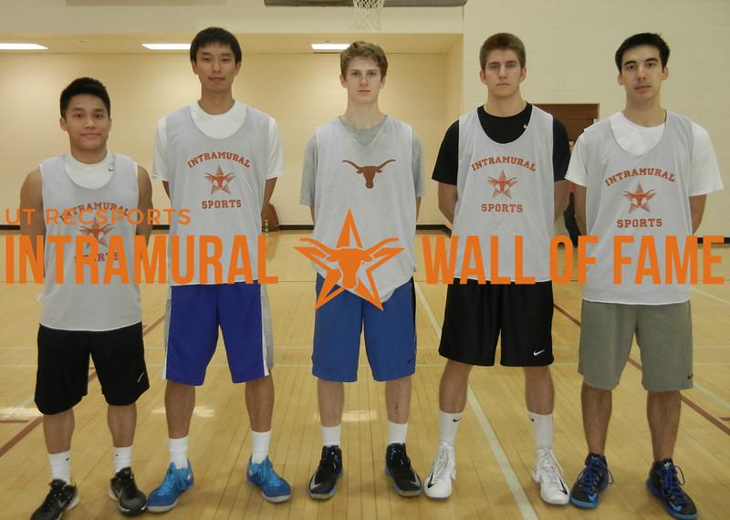 3-on-3 BASKETBALL Men's Champion   The Redeem Team  R1: Tu Pham, Justin Lyan, Connor Lewis, Parker Lutz, Luke Monteith
