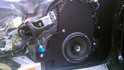 1995 Nissan 300ZX 2+0 (Bose system) Front Speaker Installation - USA