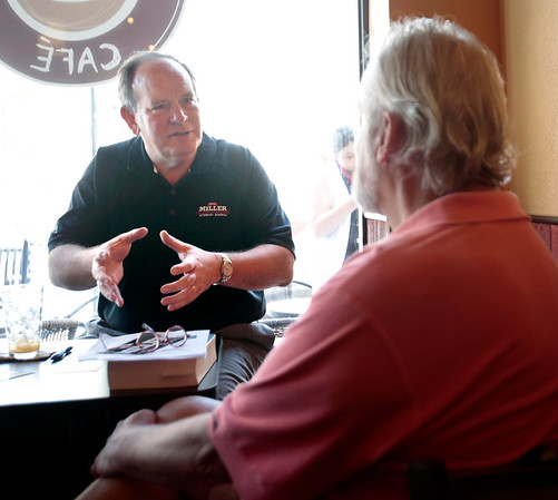 Republican AG Candidate John Miller at Marketplace-061714