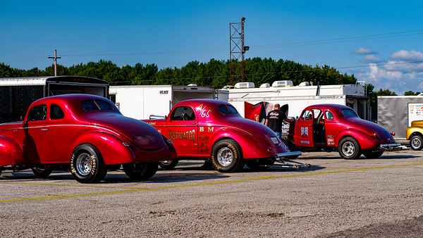 Gasser Nationals at Thompson Raceway Park Thompson OH 9-10-2021