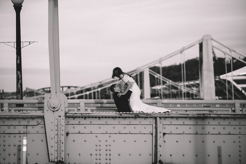 Pittsburgh Elopement Photographer - Monaco Bridge Downtown - Hadley-307.jpg