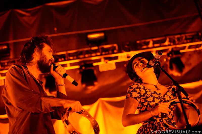 "Edward Sharpe & The Magnetic Zeros perform on October 1, 2012 in support of ""Here"" at Jannus Live in St. Petersburg, Florida"