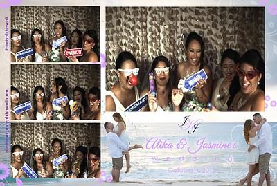 Alika & Jasmine's Wedding (Slow Motion Photo Booth)