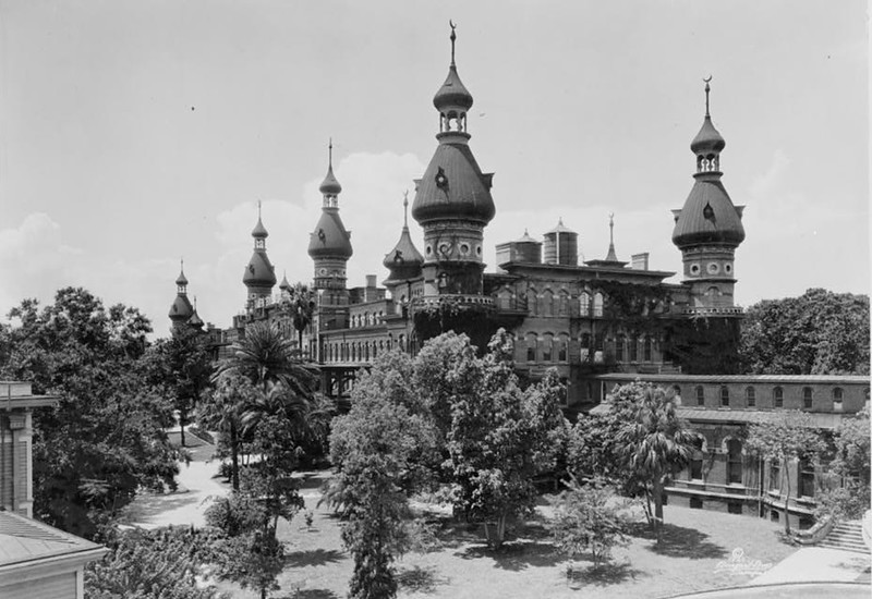 The Tampa Bay Hotel, now the University of Tampa