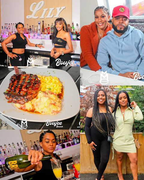 BOUJEE BRUNCH  @ LILY'S 3-28-21