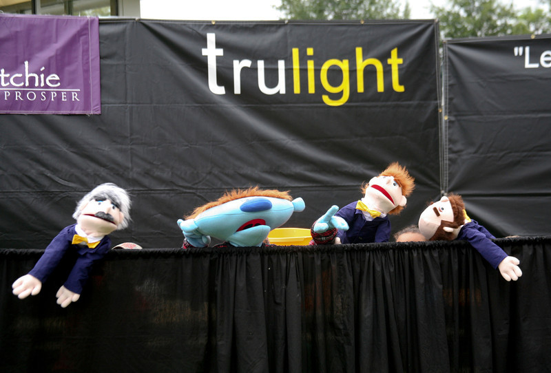 Trulight Pelahatchie Baptist Church performs with members from Audiance