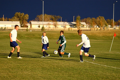 Bulldogs vs Foothills Junior Varsity 2009