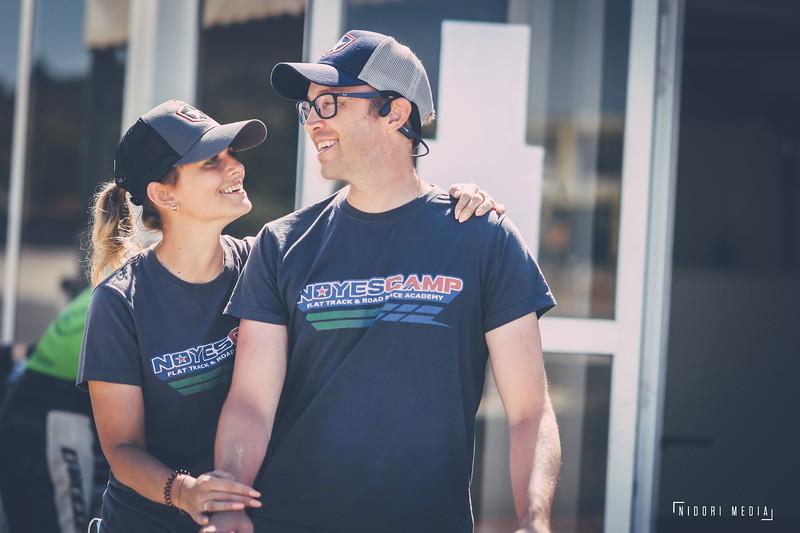 Kenny Noyes and his wife Iana