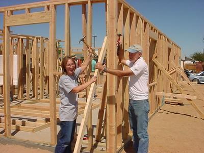 Blitz Build and Millard Fuller's Visit