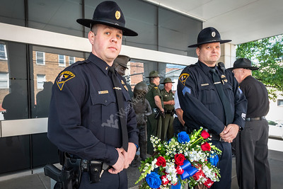 35632 Fallen Officers Wreath Ceremony WVU,  WV Police May 2019