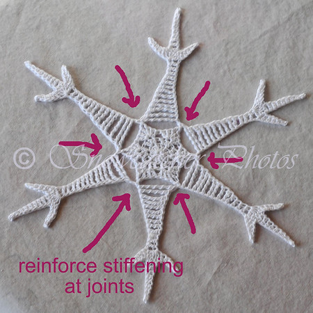 Reinforce stiffening at joints.