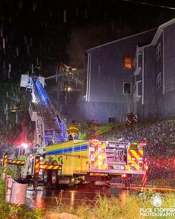 2 Alarm Condo Fire - 323 Nob Hill Rd, Elmsford, CT - 8/18/20