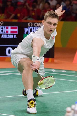 Badminton finals 20.8