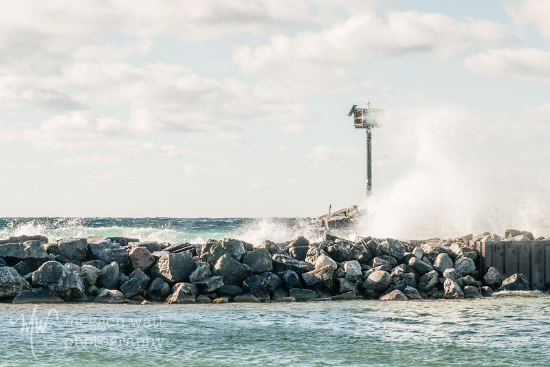 TLR-20181118-8558 Waves at the Breakwater, Leland