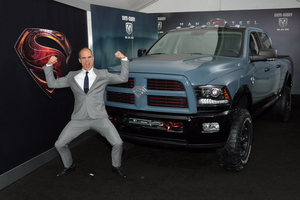""". Actor Michael Kelly attends \""""Man of Steel\"""" NYC premiere sponsored by RAM at Alice Tully Hall at Lincoln Center on June 10, 2013 in New York City.  (Photo by Mike Coppola/Getty Images  for RAM)"""