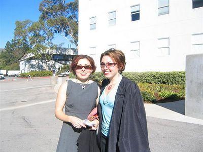 December Graduation 2004 (Nancy and Jackson)