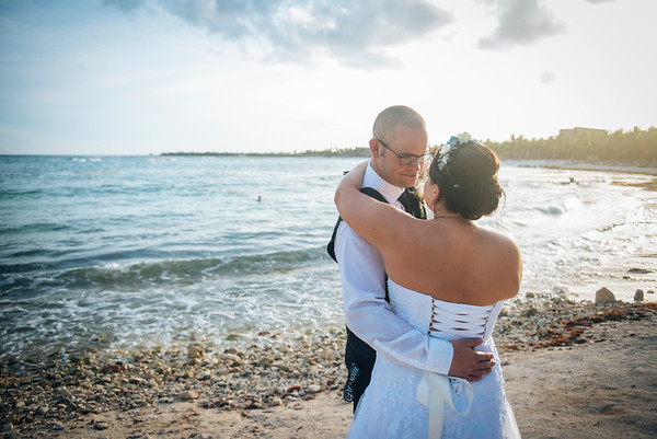 Amy + Tyler  Wedding - Barcelo Maya