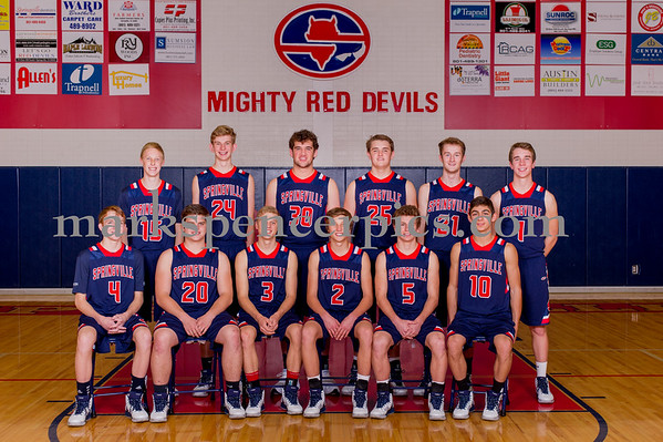 Boys Basketball Team 2015-16