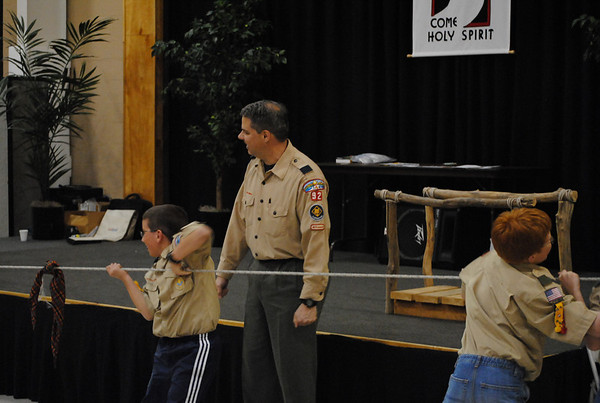 Pack 92 Cross Over Ceremony and Cake Bake