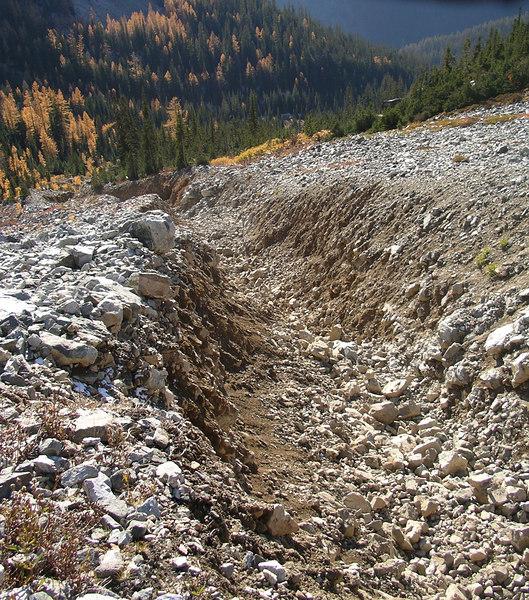 The dreaded gully.