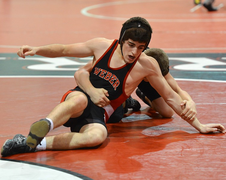 Weber High School Hosts Warrior Duels Wrestling