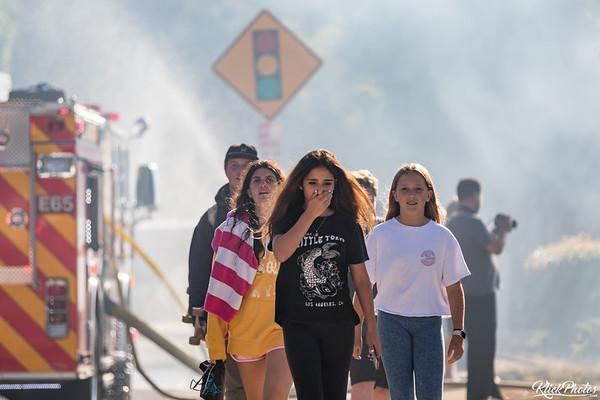 Newport Beach Brush Fire - June 13th, 2017