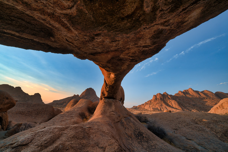 Rock Arch at Skitzkoppe