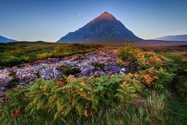 Iceland and Scotland