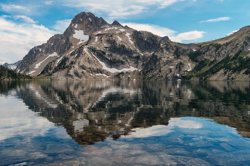 Sawtooth Lake, Sawtooth National Recreation Area, Idaho