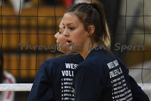 West Albany vs. North Eugene Playoff High School Volleyball