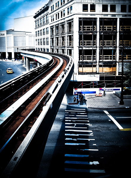 Detroit 3 people mover abandoned building michigan lilacpop color tracks.jpg