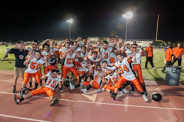 Roseville High School JV Football vs Inderkum 10-26-18
