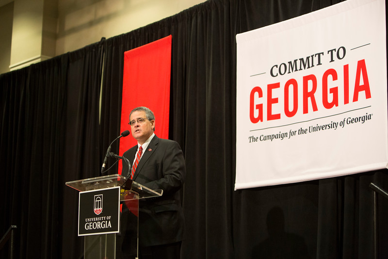 Description: Capital Campaign Athens Kickoff Platform Speakers