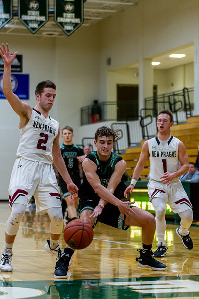 Holy Family's David Torborg '20 (4) vs. New Prague - Collin Nawrocki/The Phoenix